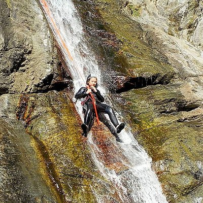 Canyoning Gourg des Anelles - Céret - Inextremis Aventura
