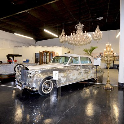 Liberace Garage holds the famed stage cars of Liberace.