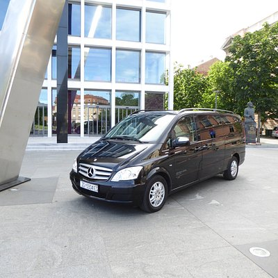 Mercedes Viano (7 pax), extra long vrs. with more space for luggage, Wi-Fi is available in the c