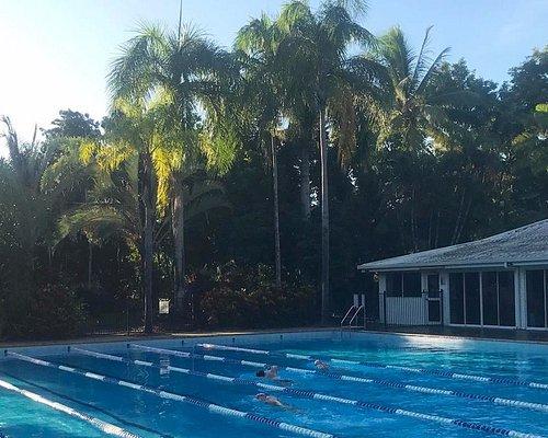 Morning Swim Sessions ate the QT Port Douglas Lap Pool