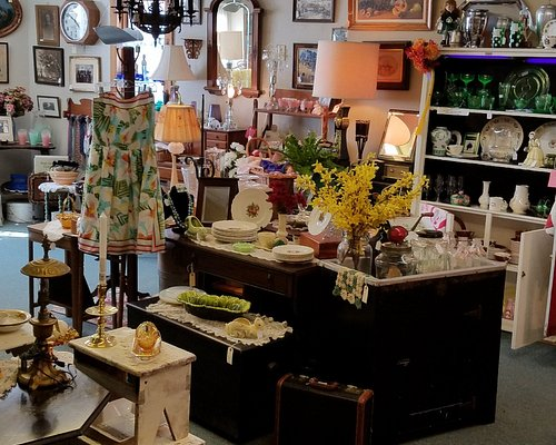 A variety of items available, old and classic.