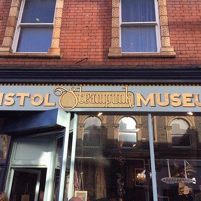 Shop Front - Bristol Steampunk Museum, Cotham Hill