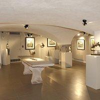 Sous-sol voûté de la Galerie