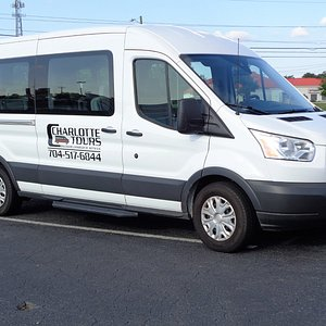 One of our tour vehicles