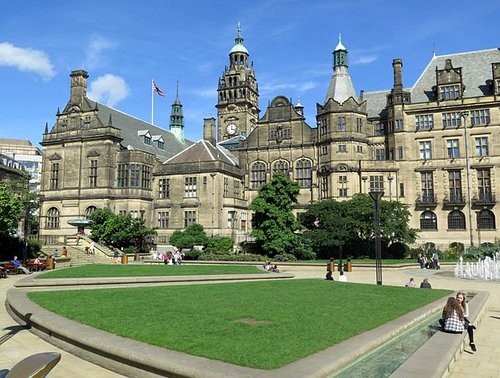 A general view from the Peace Gardens