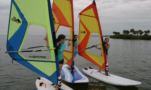 WINDSURFING - All ages - Small Group/Private/Kids Camps - Lessons and Rentals.