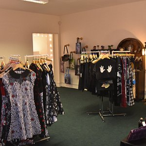 Back room; alternative clothing, jewellery, gift & accessories.