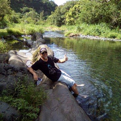 En mode excursion des FANTASTIK'S        Bassin DINAN Rivière Langevin !!