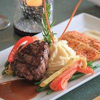 Mackinac Surf & Turf (dinner menu)