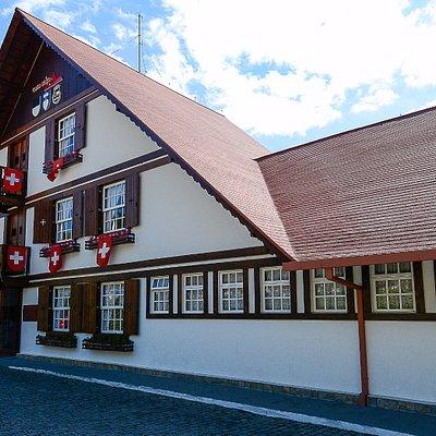 Lindo dia de sol na Casa Suíça de Nova Friburgo.