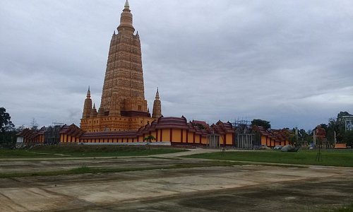 Huge temple complex renovated