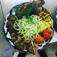 Самые аппетитные овощи и вкусный шашлык, приготовленные на углях!