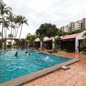 The Pool at the Shah's Beach Resort