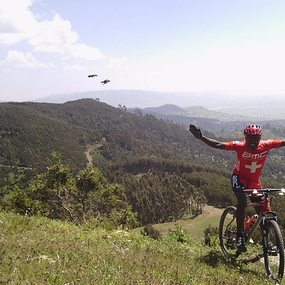 Saturday morning at entoto mountain with stunning panoramic view!