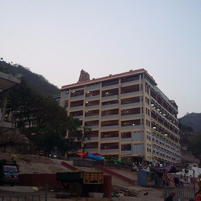 Kanaka durga temple view from outside