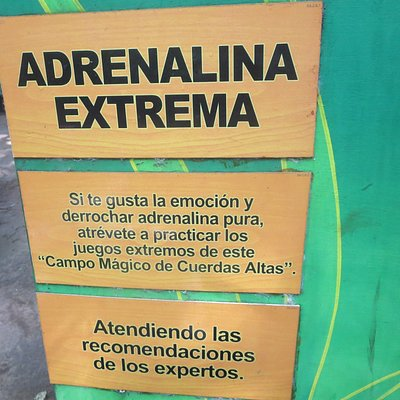 Extreme adrenaline sign