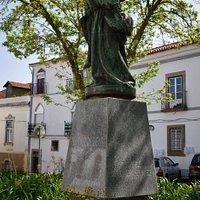 Statue of S. Joao de Deus, Montemor o Novo, Alentejo