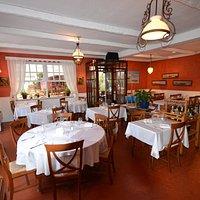 Salle du Restaurant la Roquebrunoise