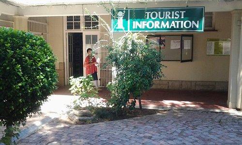 Entrance to tourism bureau