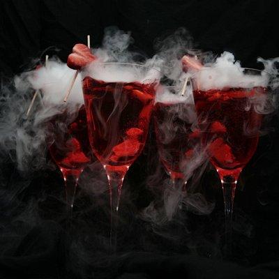 Smoking cocktail!