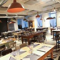 La nostra sala ristorante unisce tradizione e modernità.