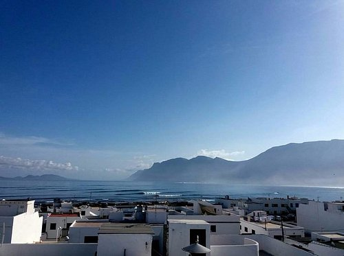 The start of a beautiful day in Lanzarote
