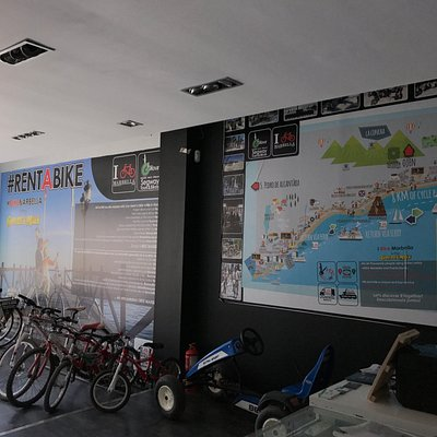 I Bike Marbella shop in Puerto Banus