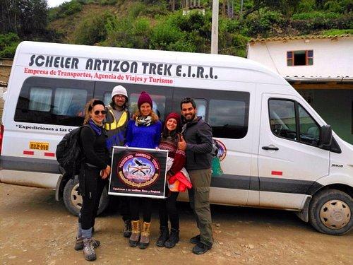 Cashapampa, Inicio o final del Trek de Santa Cruz Llanganuco 04 días / 03 noches, Cordillera Bla