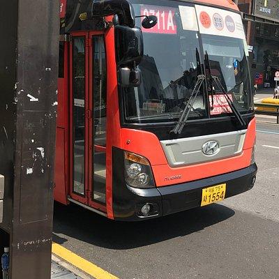 Bus in Gangnam