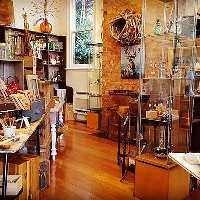 Inside the Brush Rabbit gift shop