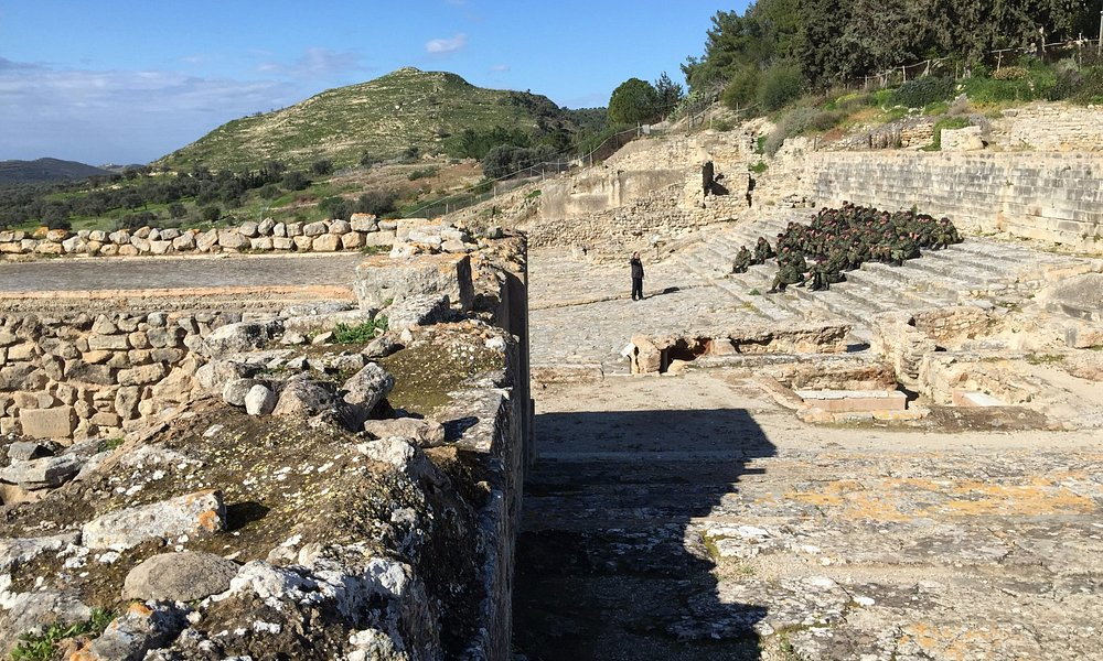 Phaistos, Festos, Crete, Greece