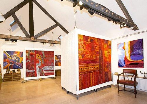 Exposition des artistes Aborigènes de Tjungu Palya Arts