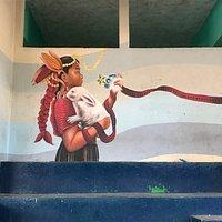 Mural painted by jovenarte