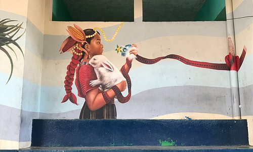 Mural painted by jovenarte