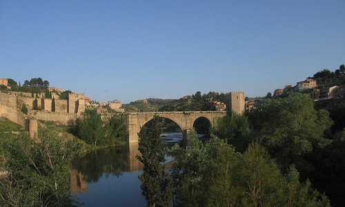 Brücke über den Rio Tejo zur Altstadt von Toledo