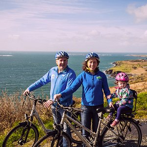 Sky Road View with Jonathan and Amanda from Clifden Bike Hire at All Things Connemara