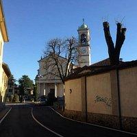 Chiesa parrocchiale di S. Giovanni Battista a Cernusco Lombardone (LC)