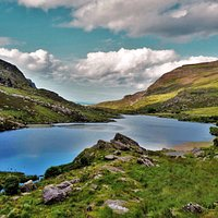 The little lake on Gap of Dunloe, breathtaking!