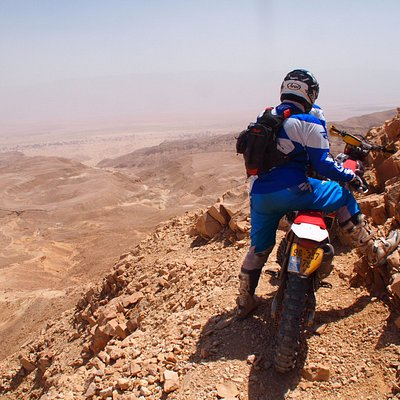 Down to the Arava in a single trail