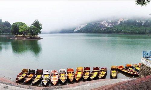 Bhimtal Lake- Boating 250INR
