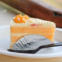 ขนมเค้กส้มอร่อย