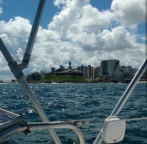 Venha velejar conosco na BAÍA DE TODOS OS SANTOS