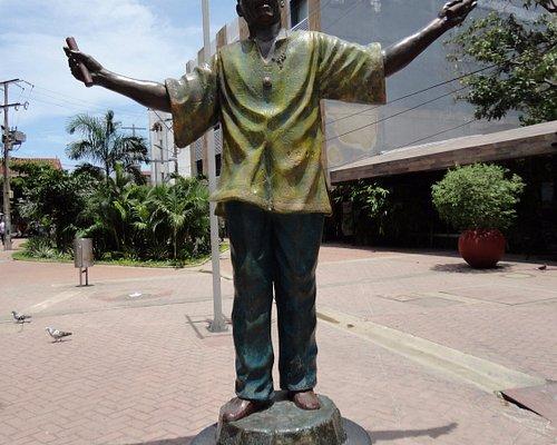 Plazoleta Joe Arroyo, Cartagena de Indias.