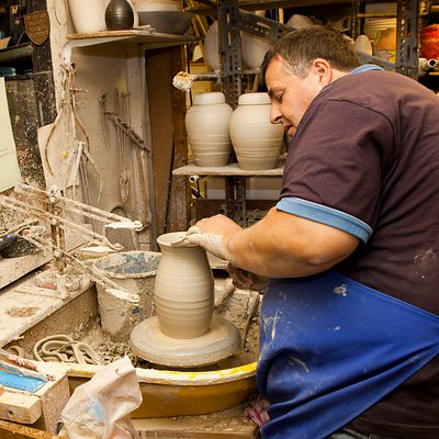 Making of pottery