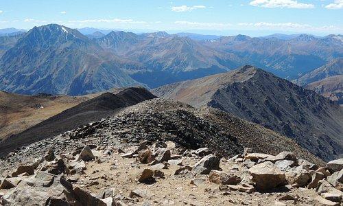 Scenery from Mt Elbert
