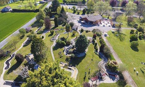Photo du Parc de Loisirs Montignac-Lascaux et de son Mini Golf.