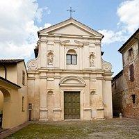 Facciata della Chiesa di San Rocco da Piazza San Rocco.