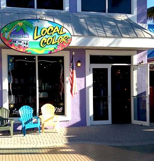 Located in the Heart of Times Square on Fort Myers Beach, FL