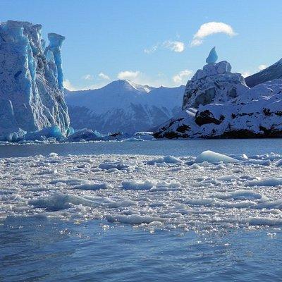 Glaciar Perito Moreno icebergs