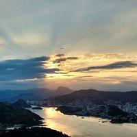 Morro do Moreno - Por do Sol